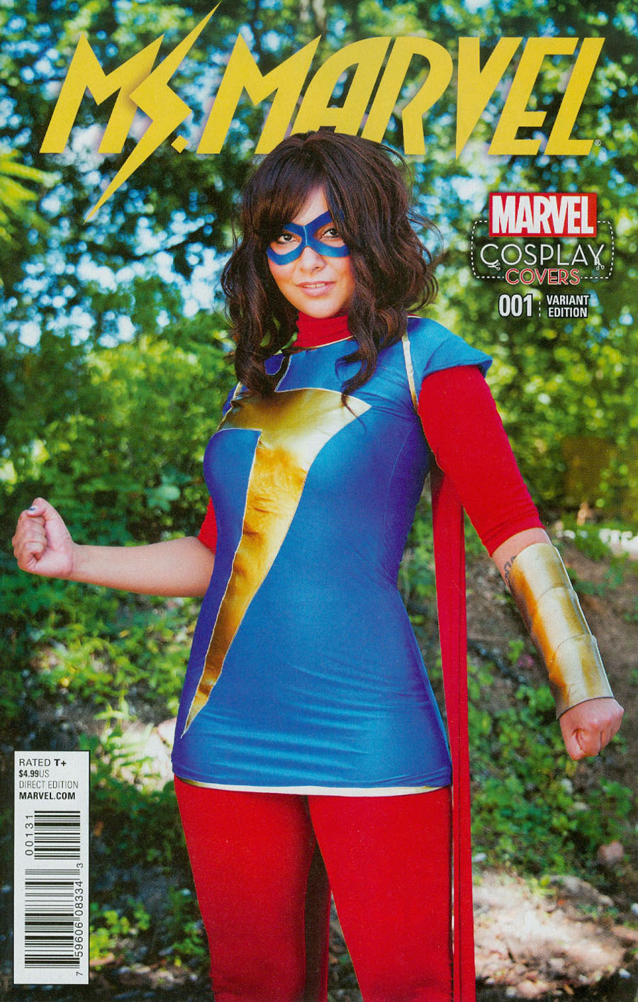 Ms Marvel Vol 4 #1 Cover D Incentive Cosplay Variant Cover