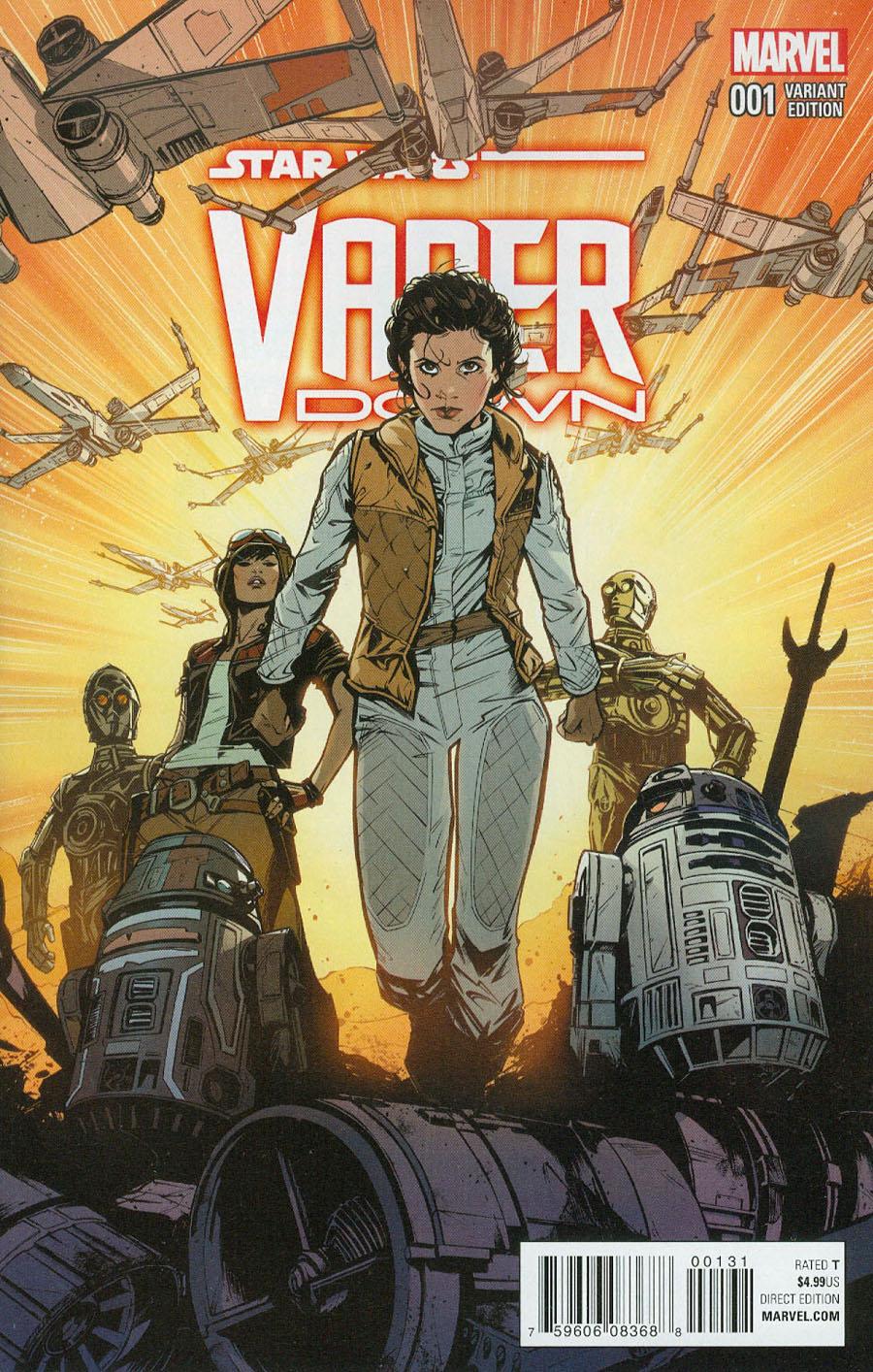 Star Wars Vader Down #1 Cover F Incentive Joelle Jones Variant Cover (Vader Down Part 1)