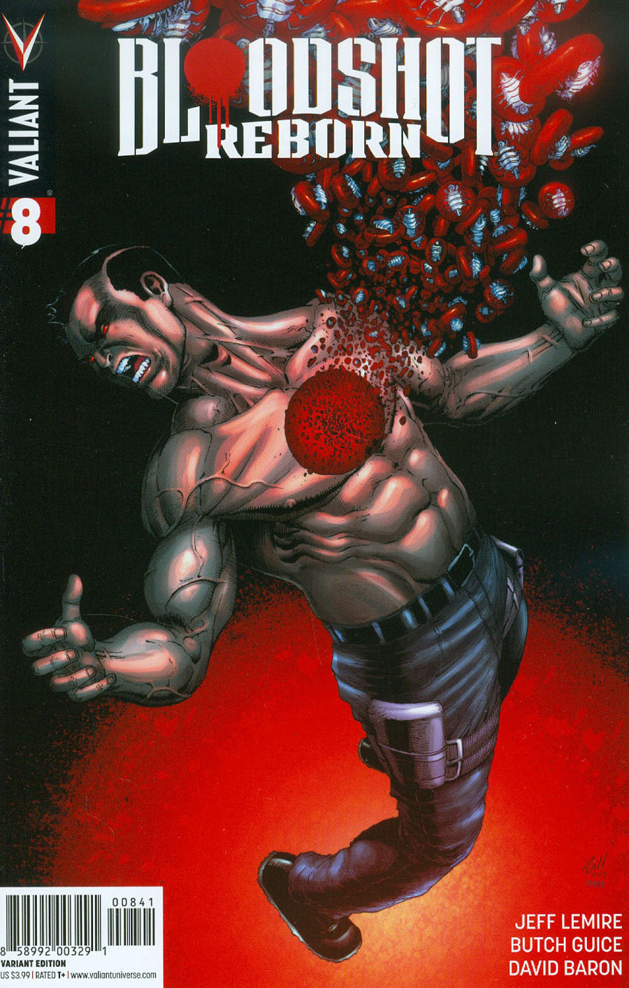 Bloodshot Reborn #8 Cover D Incentive Robert Gill Variant Cover