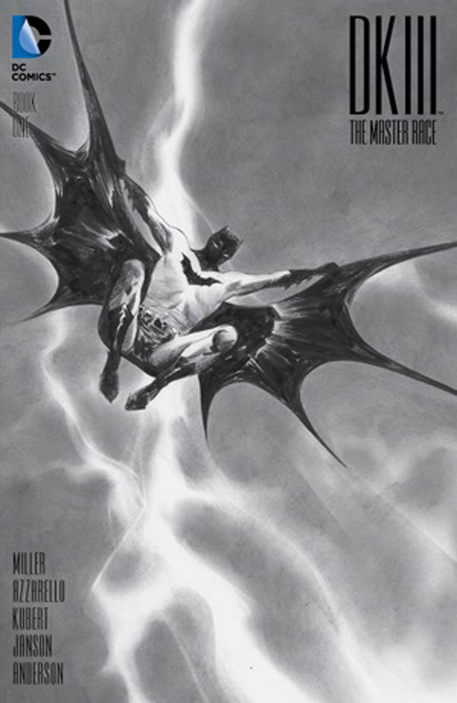 Dark Knight III The Master Race #1 Cover H DF Exclusive Jae Lee Black & White Variant Cover