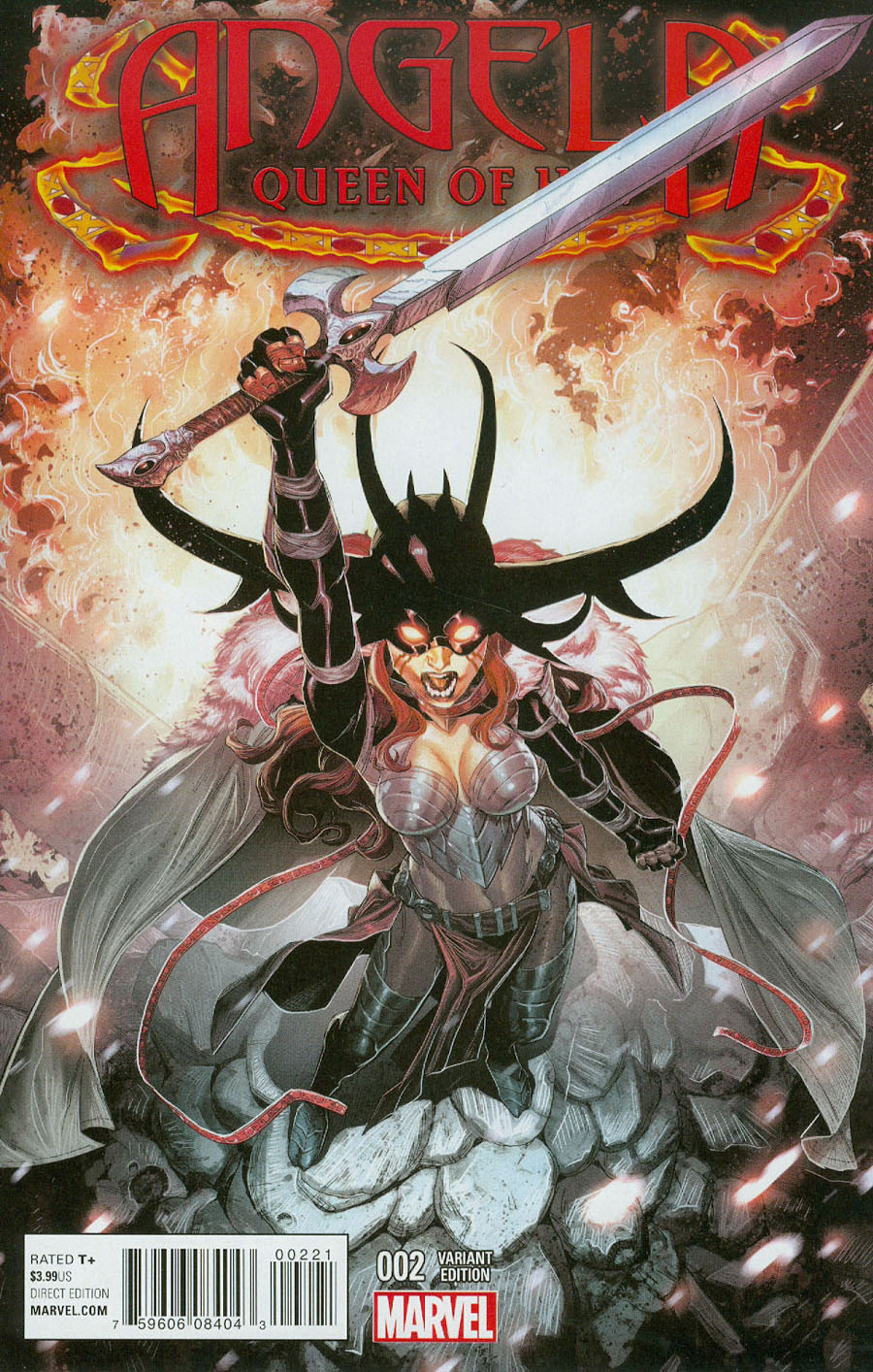 Angela Queen Of Hel #2 Cover B Incentive Aaron Kim Jacinto Variant Cover