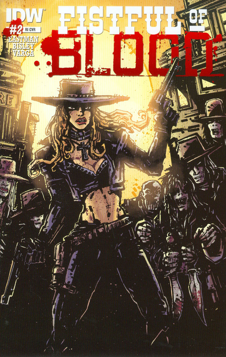 Fistful Of Blood #2 Cover C Incentive Kevin Eastman Variant Cover