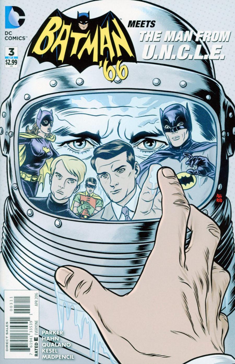 Batman 66 Meets The Man From U.N.C.L.E. #3