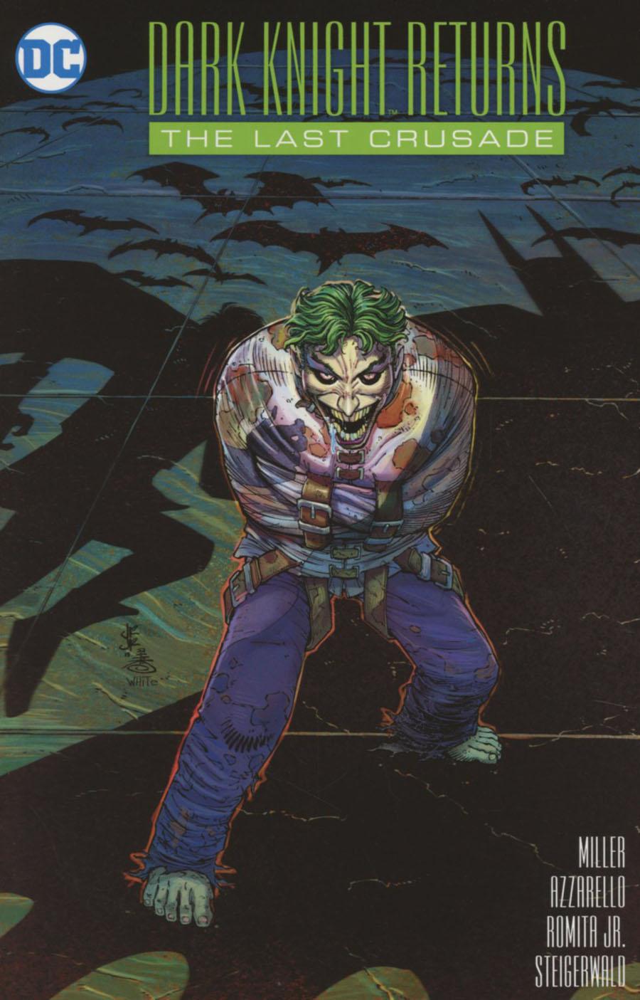 Dark Knight Returns The Last Crusade #1 Cover A Regular John Romita Jr Cover