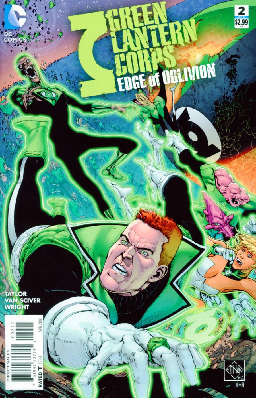 Green Lantern Corps Edge Of Oblivion #2