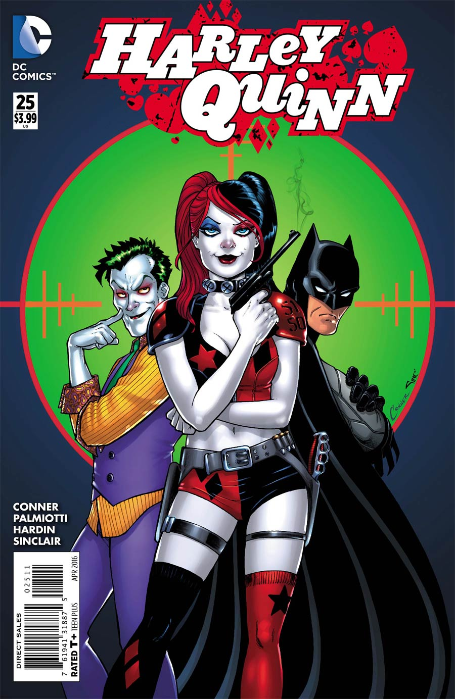 Harley Quinn Vol 2 #25 Cover A Regular Amanda Conner Cover