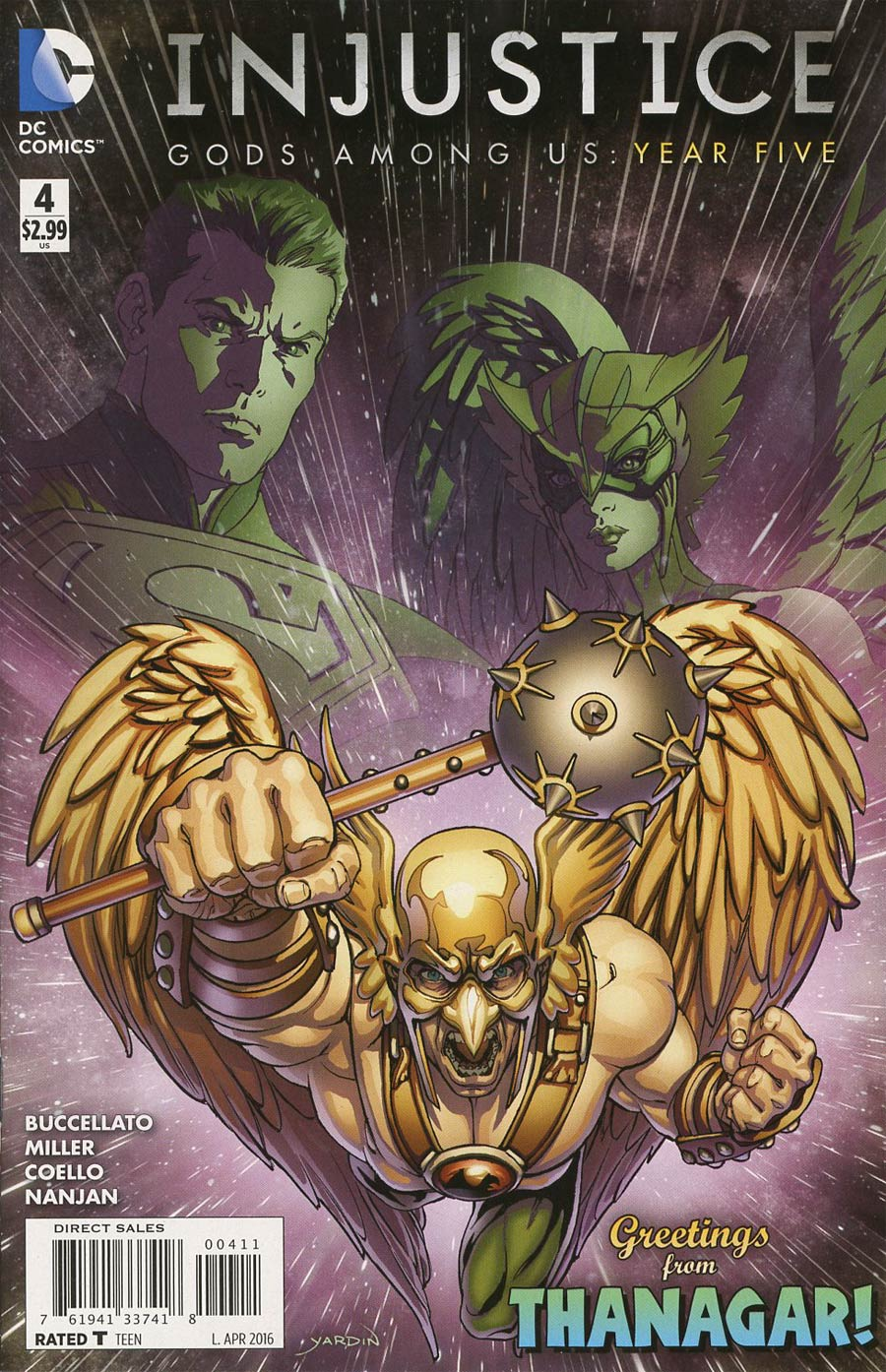 Injustice Gods Among Us Year Five #4