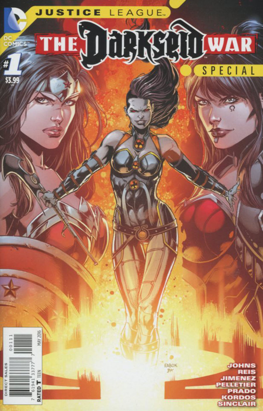 Justice League Darkseid War Special #1 Cover A Regular Jason Fabok Cover