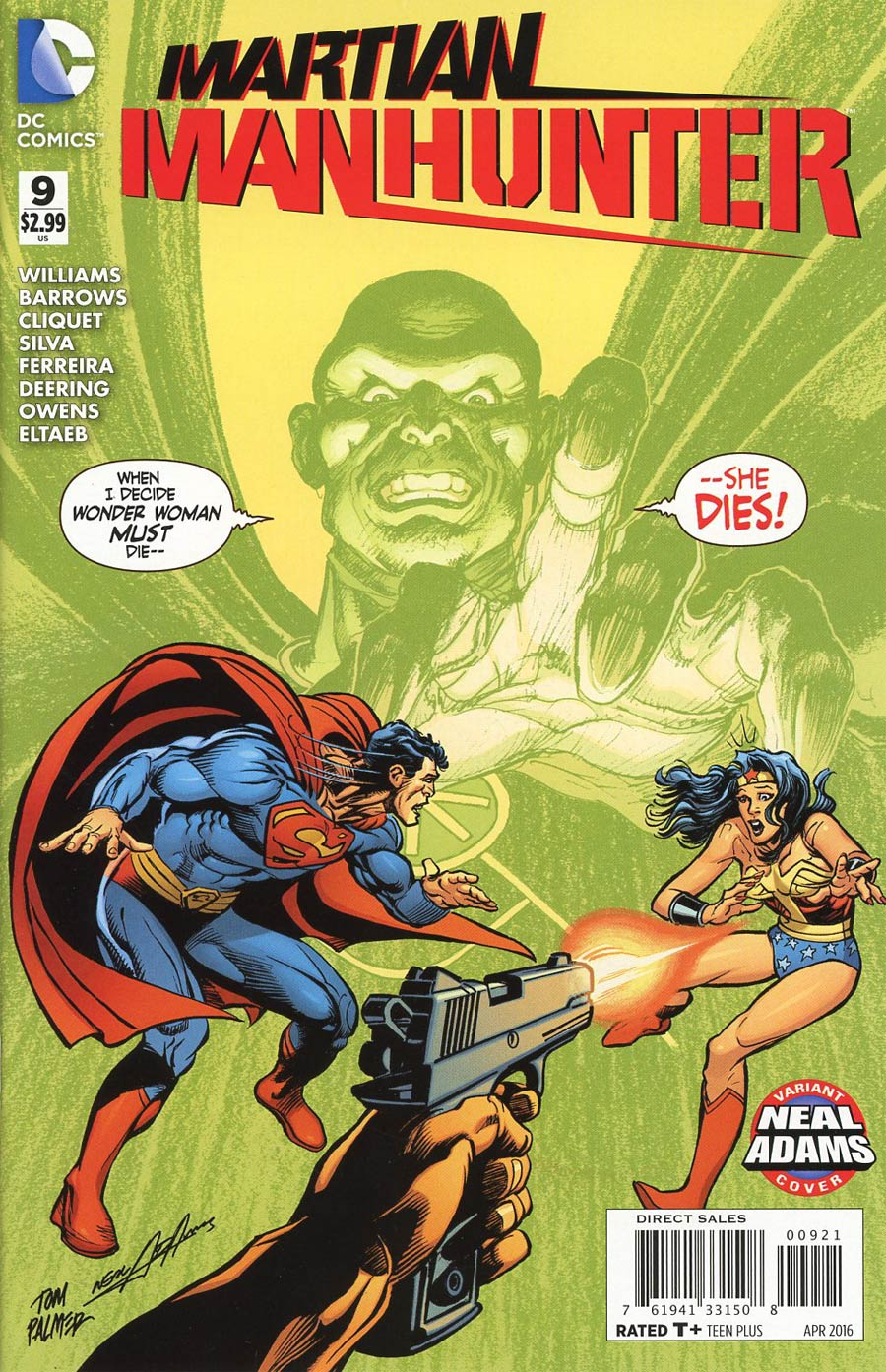 Martian Manhunter Vol 4 #9 Cover B Variant Neal Adams Cover