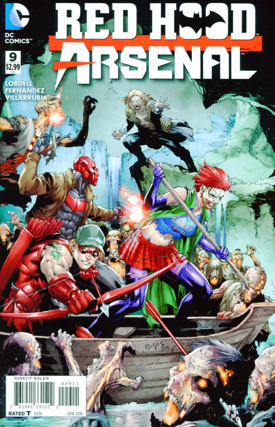 Red Hood Arsenal #9 Cover A Regular Ed Benes Cover