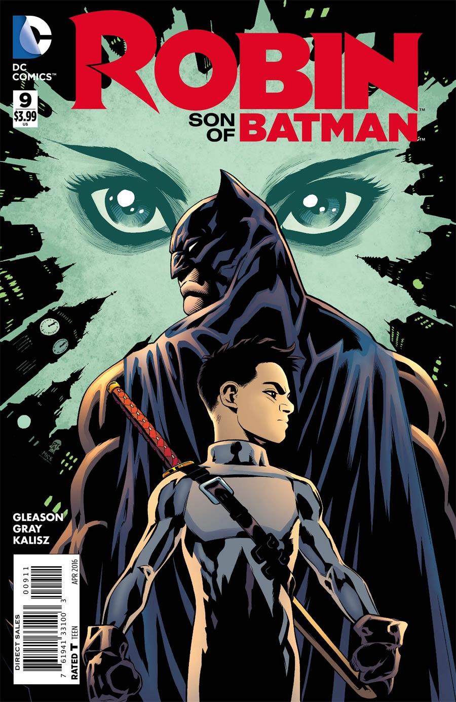Robin Son Of Batman #9 Cover A Regular Patrick Gleason Cover
