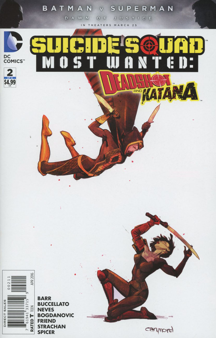 Suicide Squad Most Wanted Deadshot Katana #2