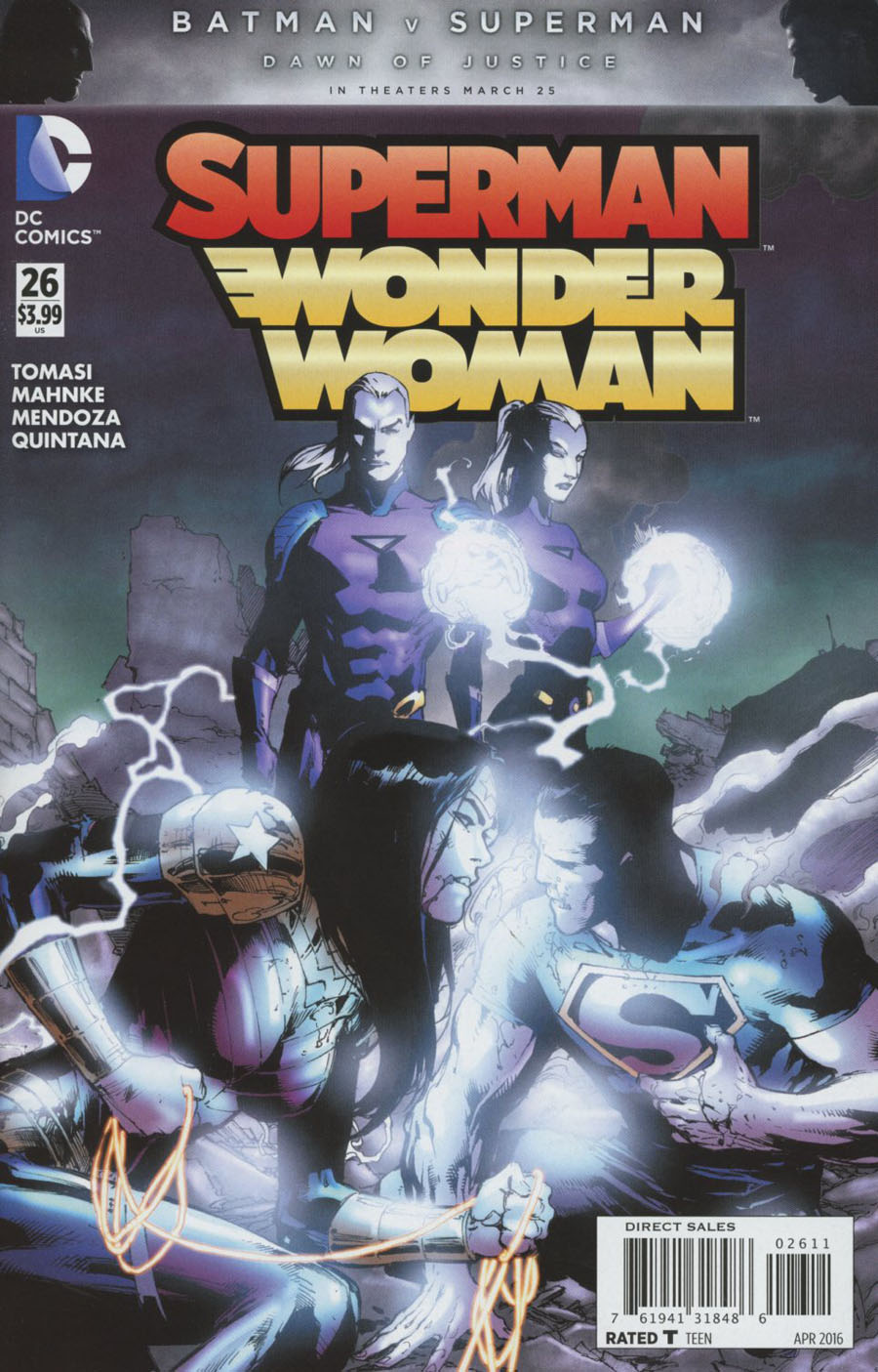 Superman Wonder Woman #26 Cover A Regular Ed Benes Cover