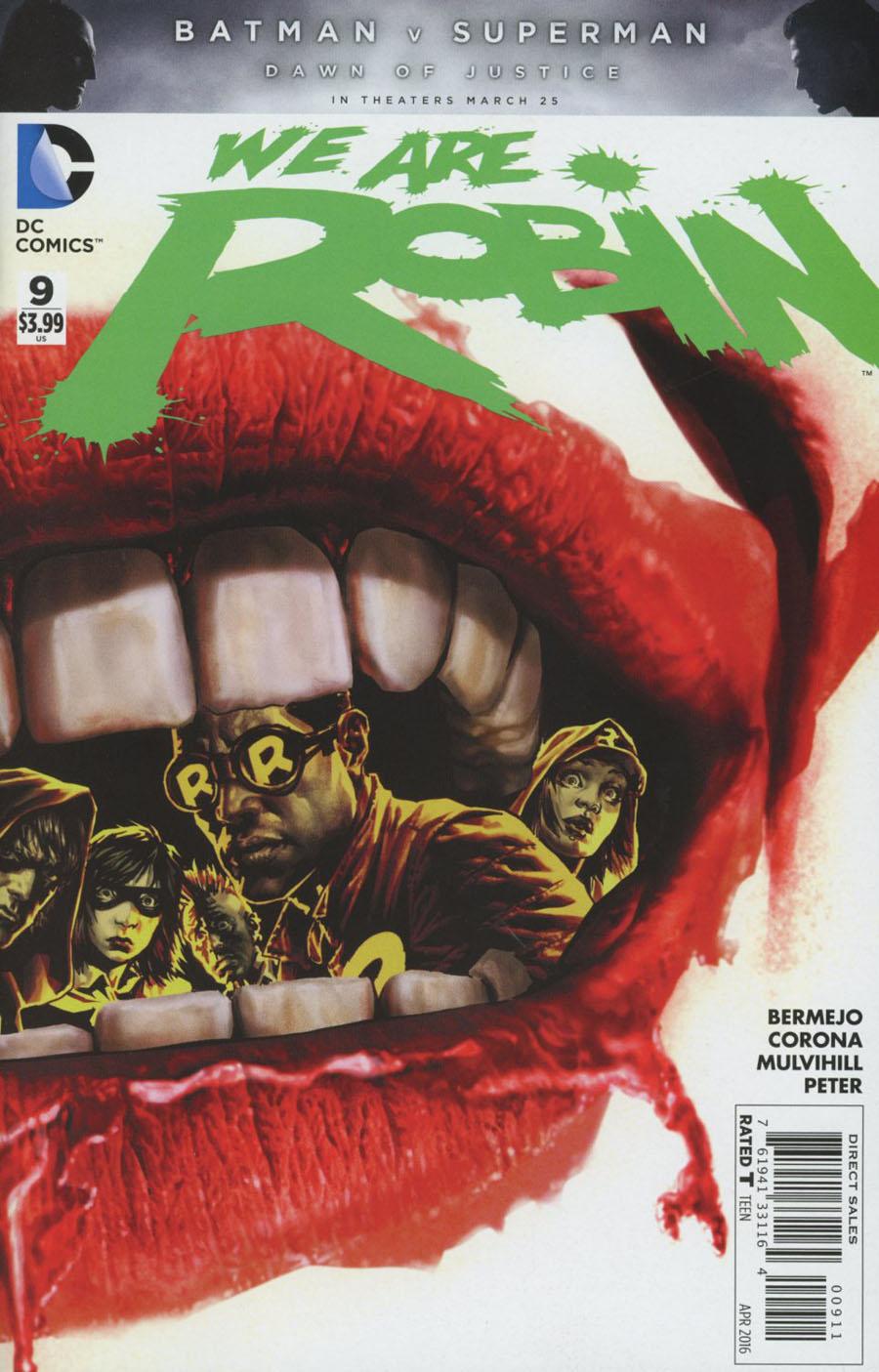 We Are Robin #9 Cover A Regular Lee Bermejo Cover