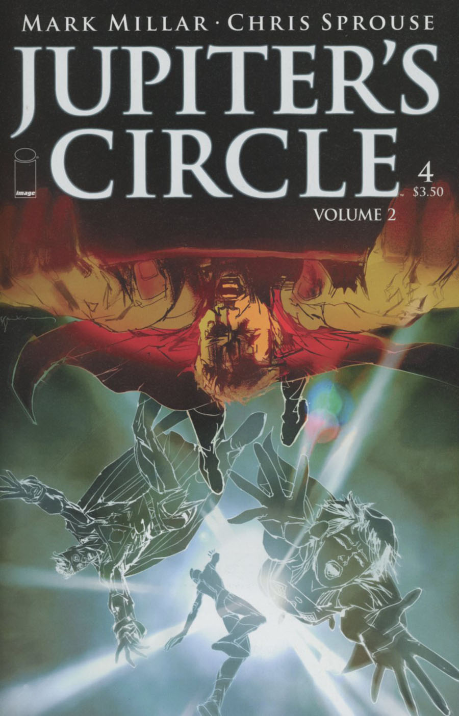Jupiters Circle Vol 2 #4 Cover A Bill Sienkiewicz
