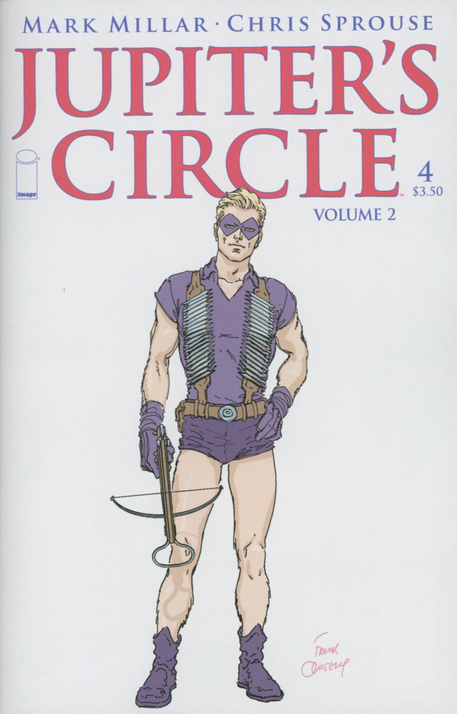 Jupiters Circle Vol 2 #4 Cover B Frank Quitely