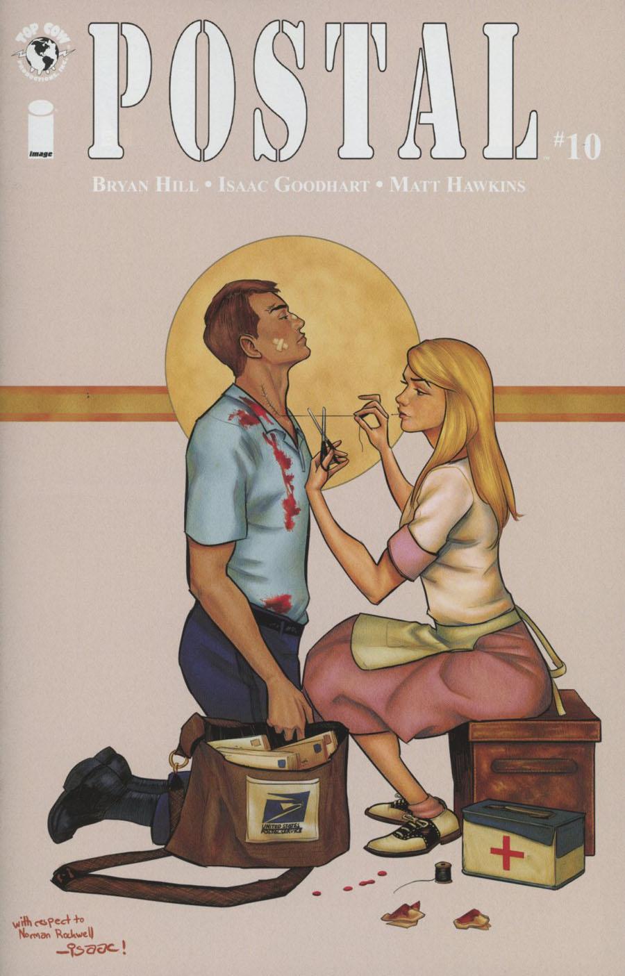 Postal #10 Cover B Isaac Goodhart