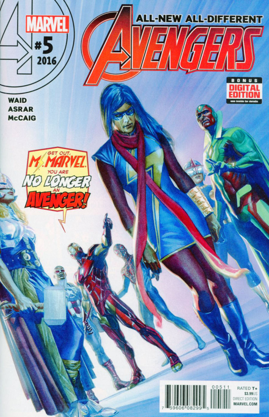 All-New All-Different Avengers #5 Cover A 1st Ptg Regular Alex Ross Cover