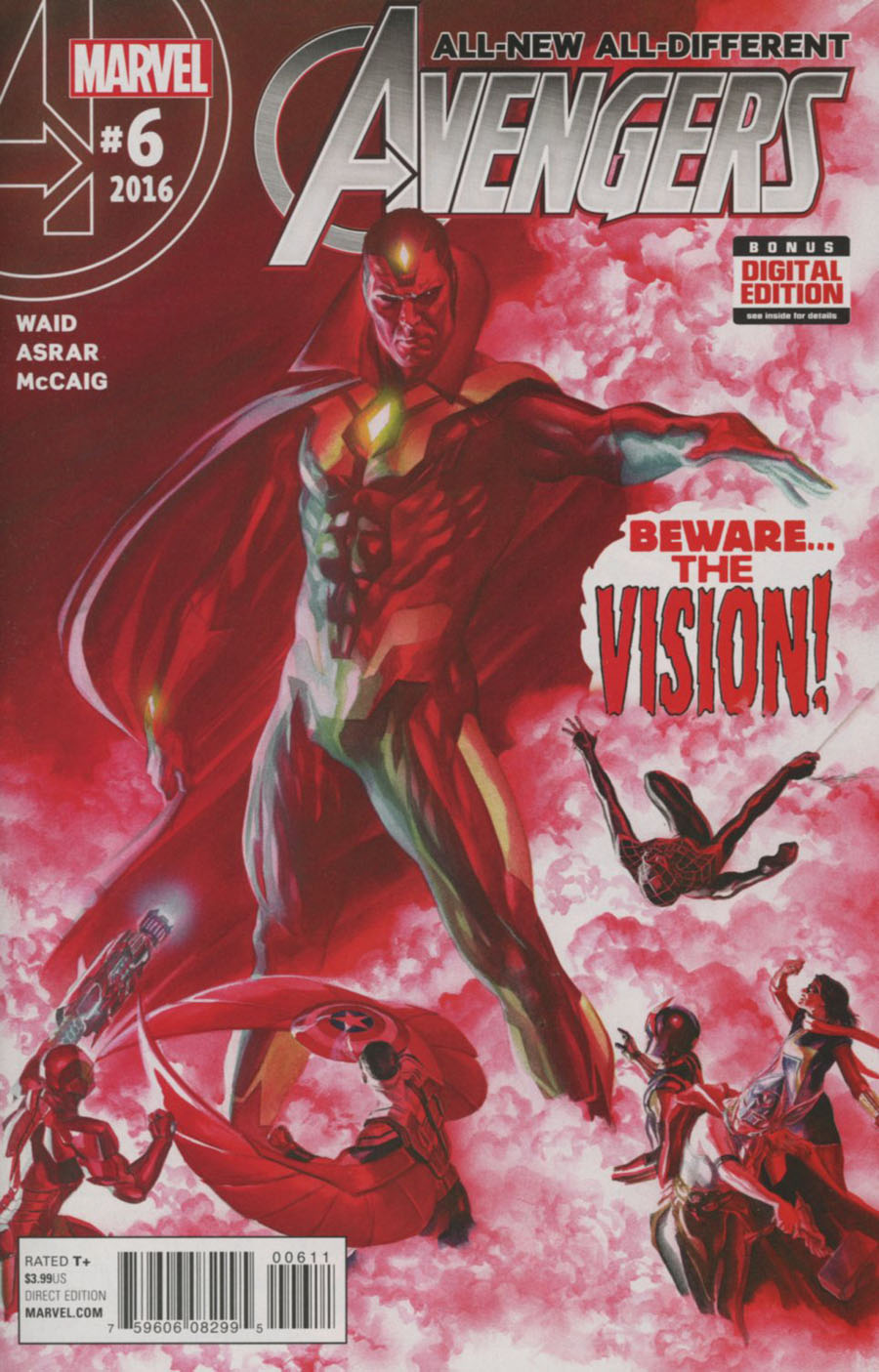 All-New All-Different Avengers #6 Cover A 1st Ptg