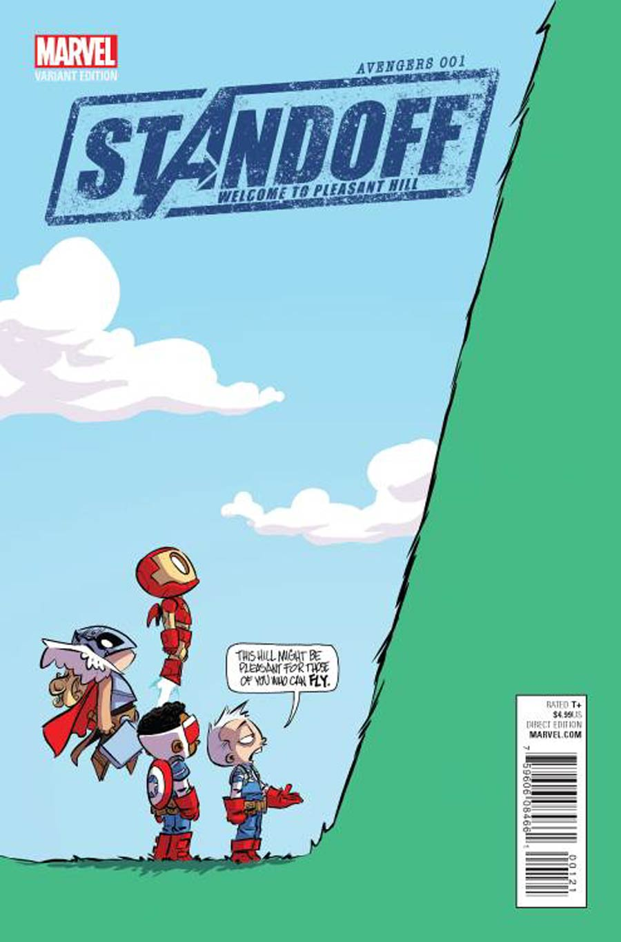 Avengers Standoff Welcome To Pleasant Hill #1 Cover C Variant Skottie Young Baby Cover
