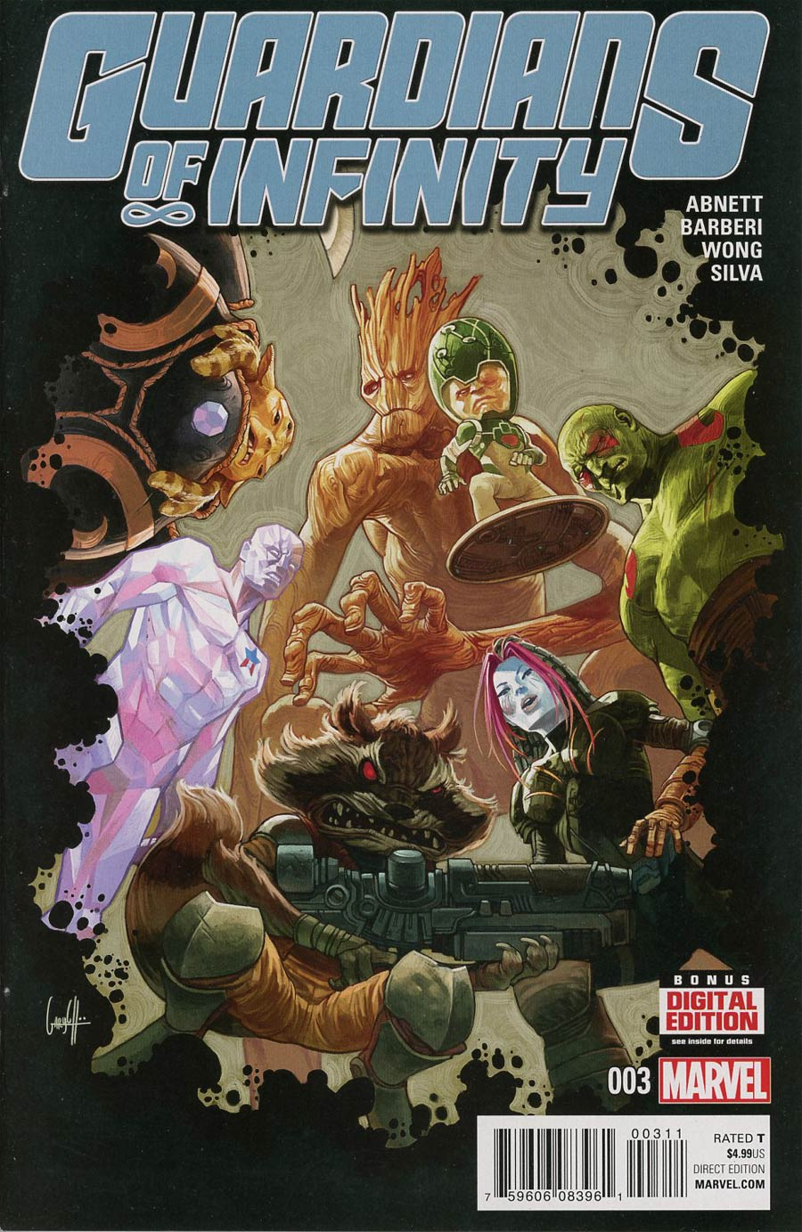 Guardians Of Infinity #3 Cover A Regular Gary Choo Cover