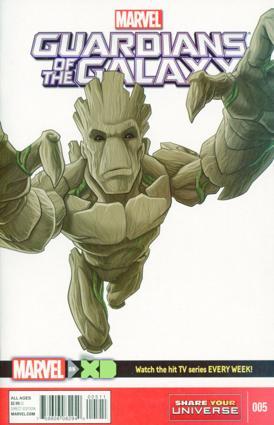 Marvel Universe Guardians Of The Galaxy Vol 2 #5