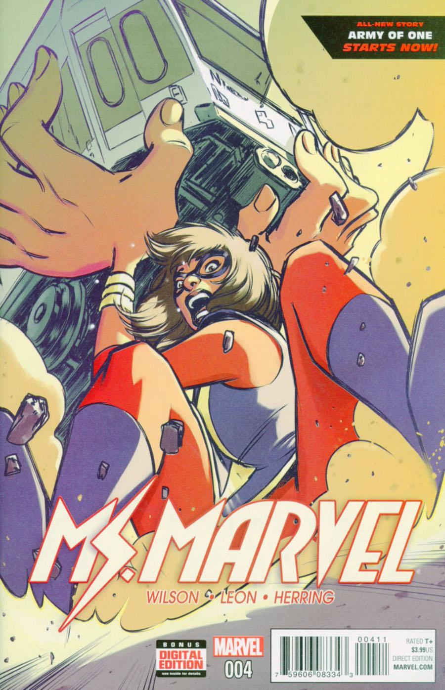Ms Marvel Vol 4 #4 Cover A Regular David Lopez Cover