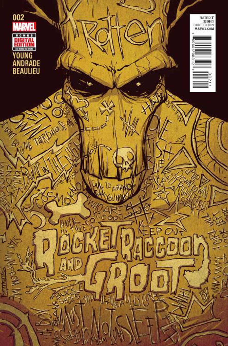 Rocket Raccoon And Groot #2 Cover A Regular Skottie Young Cover