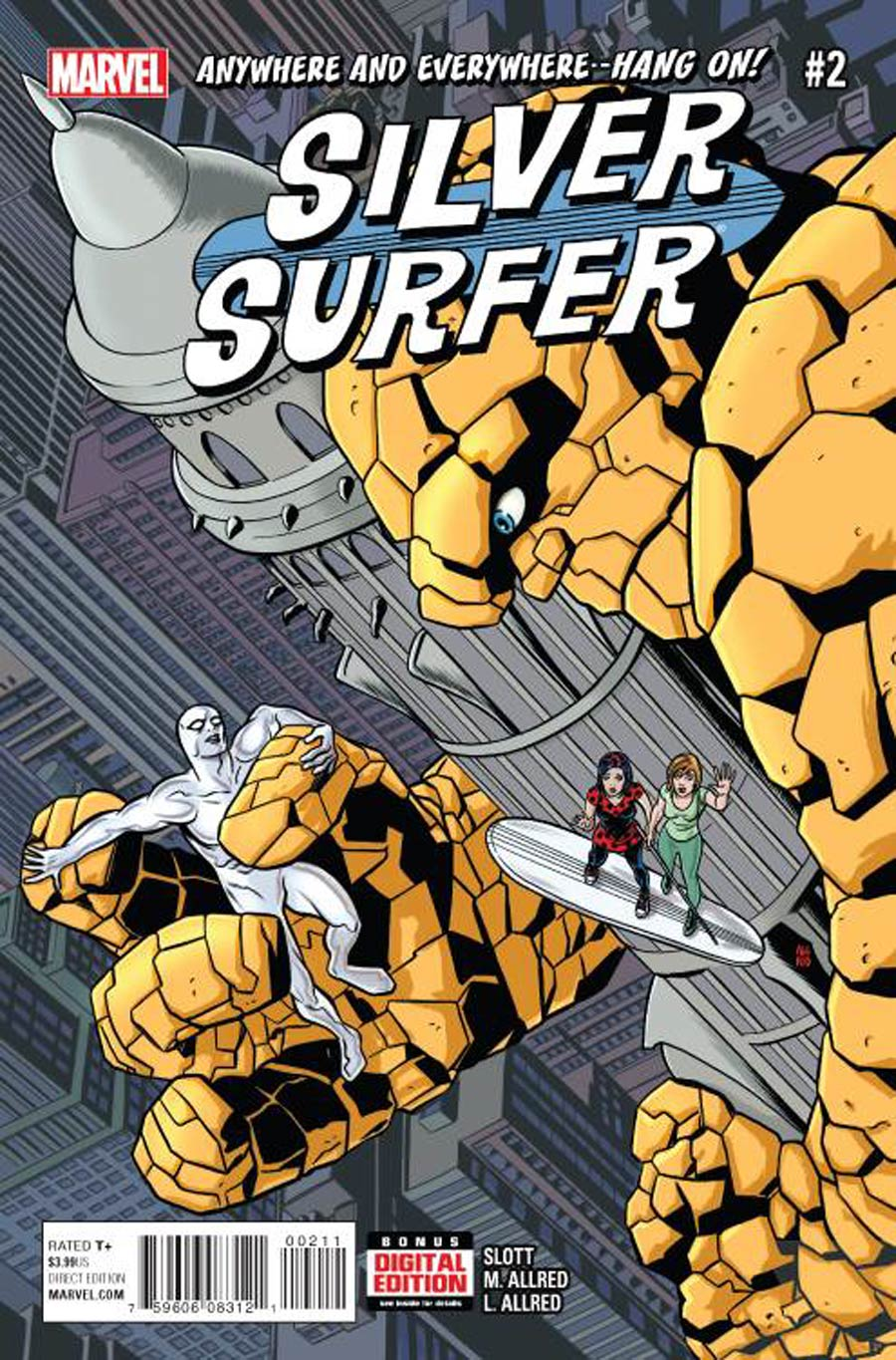 Silver Surfer Vol 7 #2 Cover A Regular Mike Allred Cover