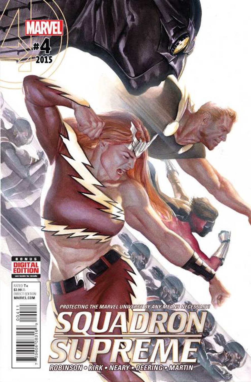 Squadron Supreme Vol 4 #4 Cover A Regular Alex Ross Cover