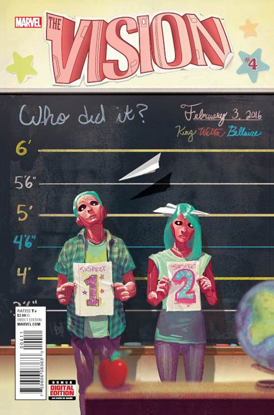 Vision Vol 2 #4 Cover A 1st Ptg Regular Mike Del Mundo Cover