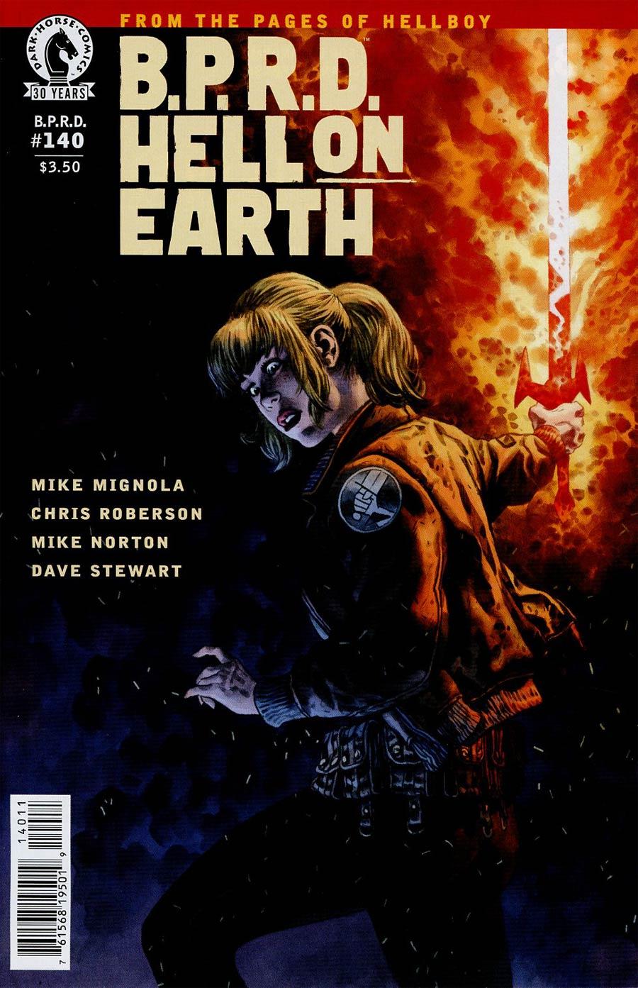 BPRD Hell On Earth #140 Cover A Regular Duncan Fegredo Cover