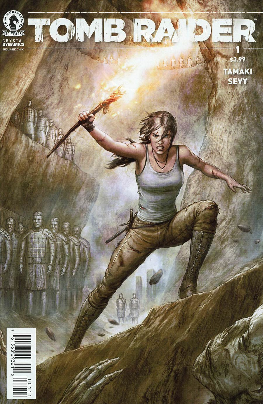 Tomb Raider Vol 3 #1 Cover A Regular Agustin Alessio Cover