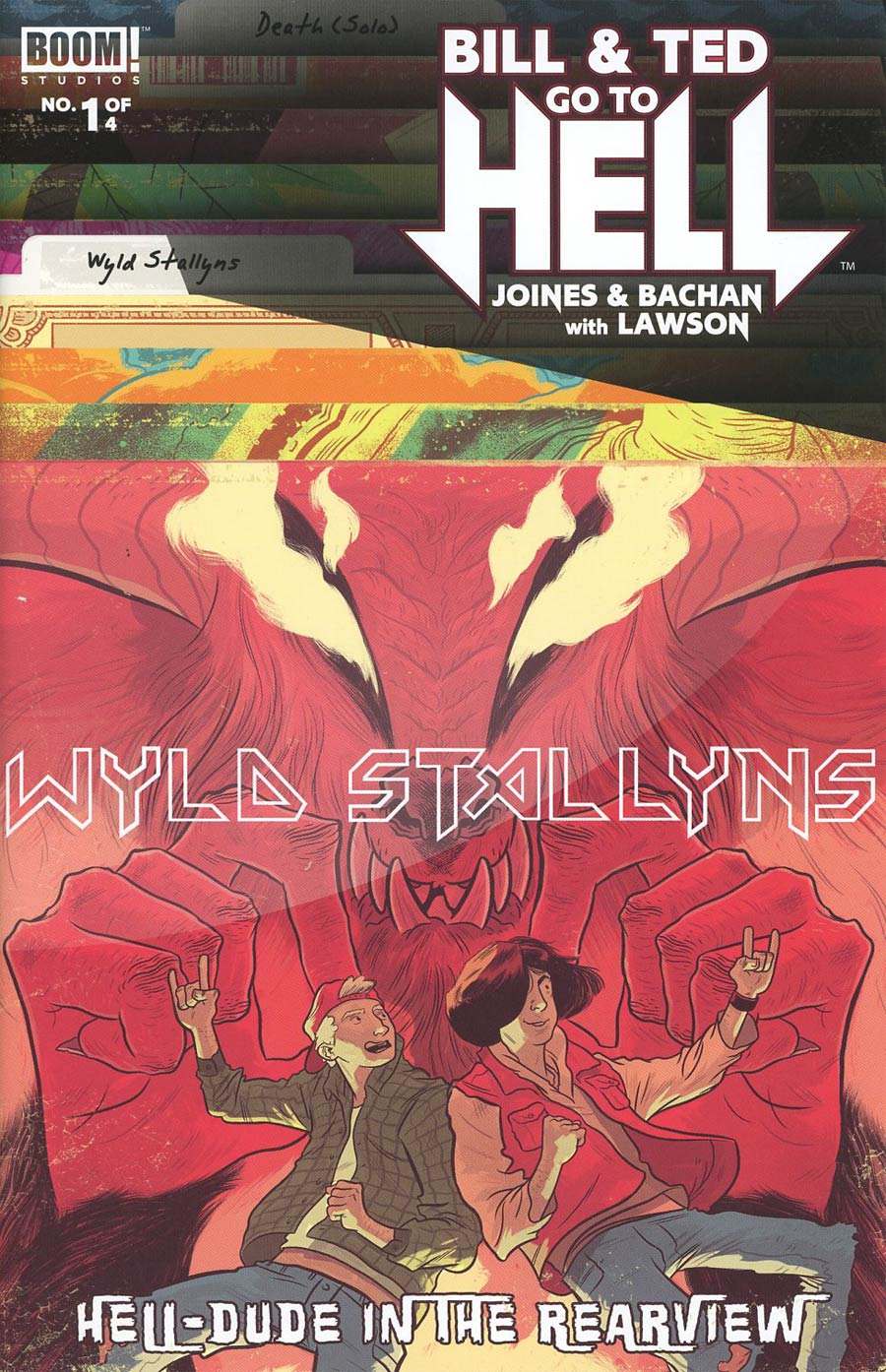 Bill & Ted Go To Hell #1 Cover B Variant Logan Faerber Subscription Cover