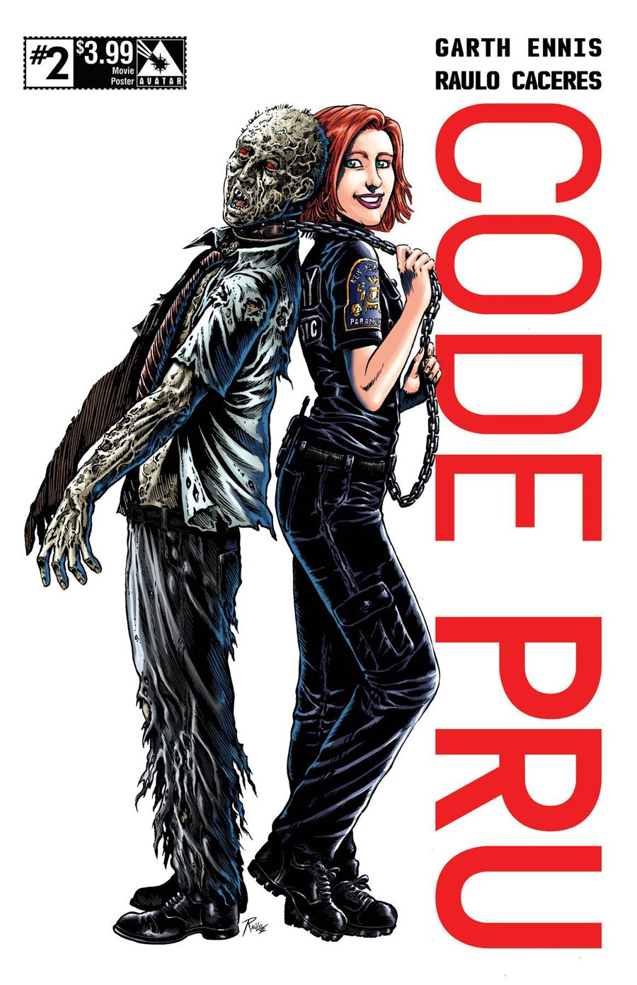 Code Pru #2 Cover D Movie Poster Cover