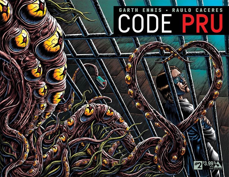 Code Pru #2 Cover B Wraparound Cover