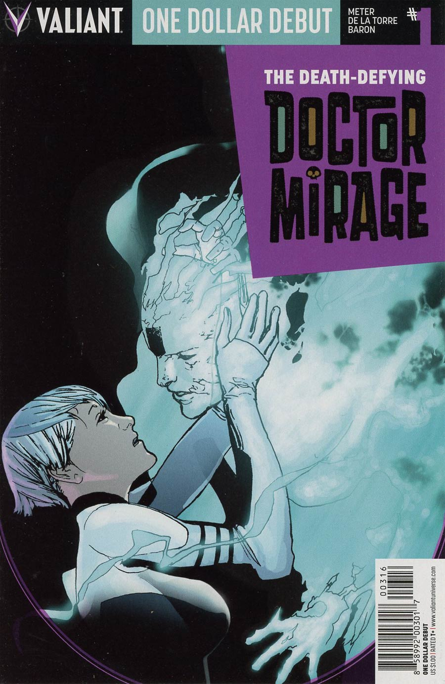 Death-Defying Doctor Mirage #1 Cover E One Dollar Debut Edition