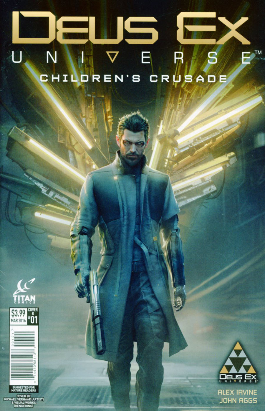 Deus Ex Universe Childrens Crusade #1 Cover B Variant Game Art Cover