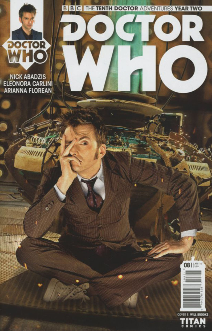 Doctor Who 10th Doctor Year Two #8 Cover B Variant Photo Subscription Cover