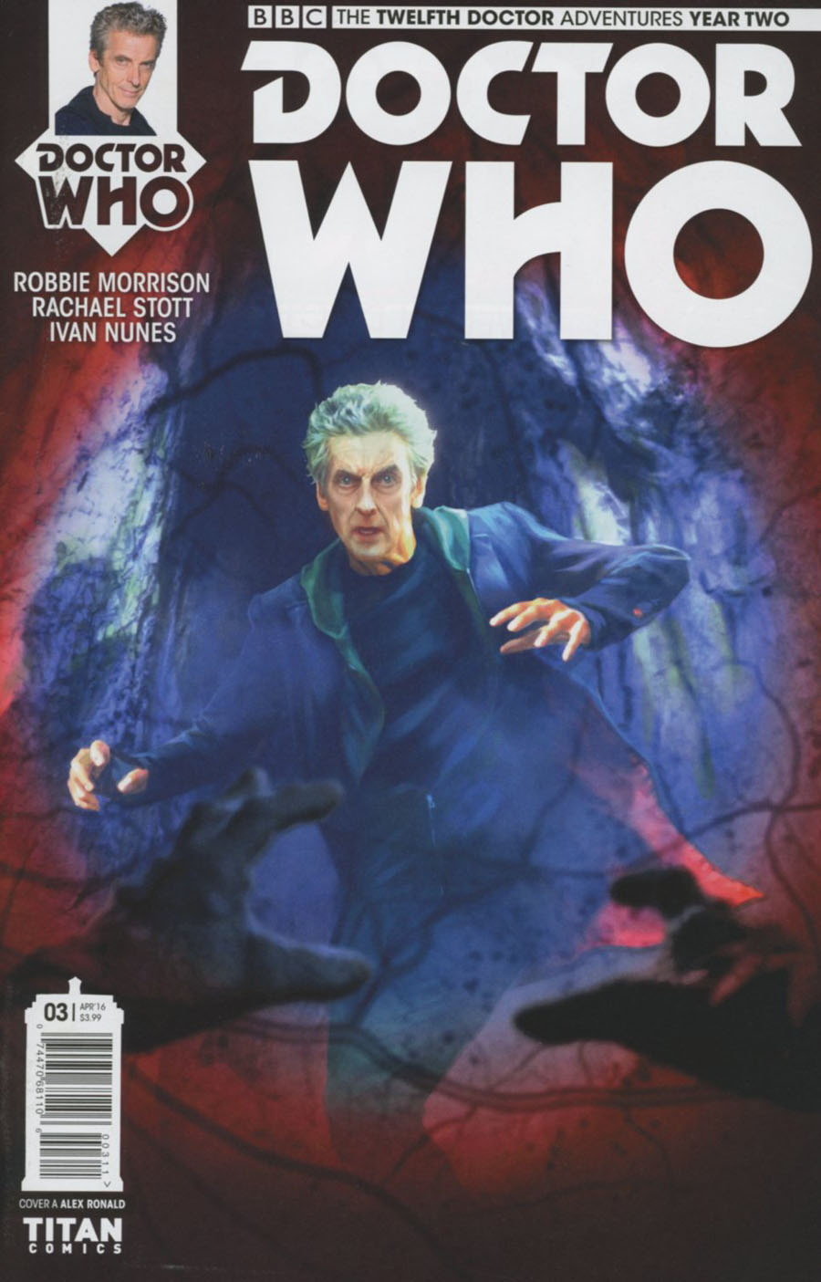 Doctor Who 12th Doctor Year Two #3 Cover A Regular Alex Ronald Cover