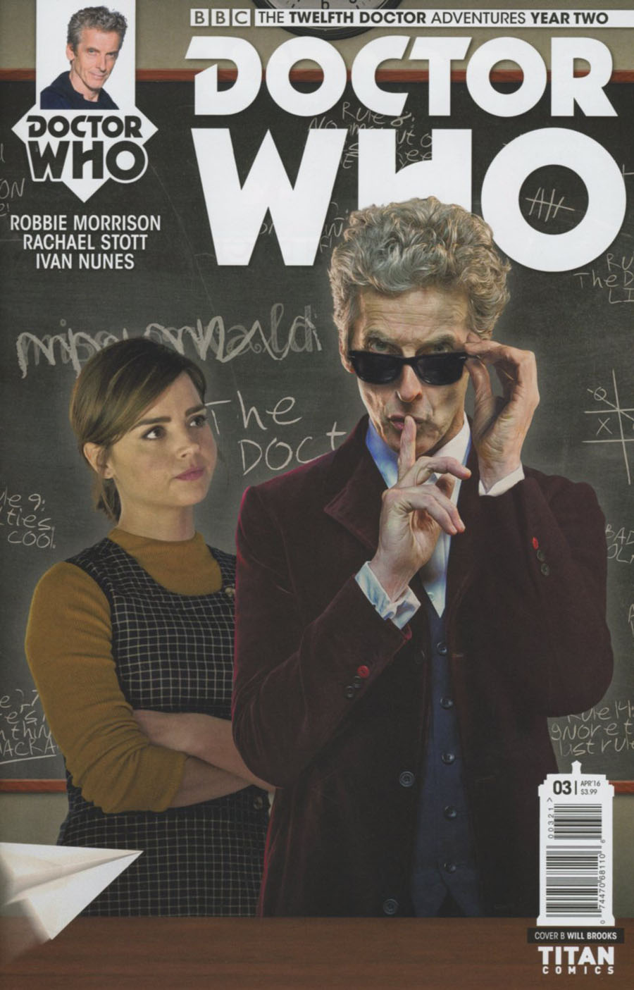 Doctor Who 12th Doctor Year Two #3 Cover B Variant Photo Subscription Cover
