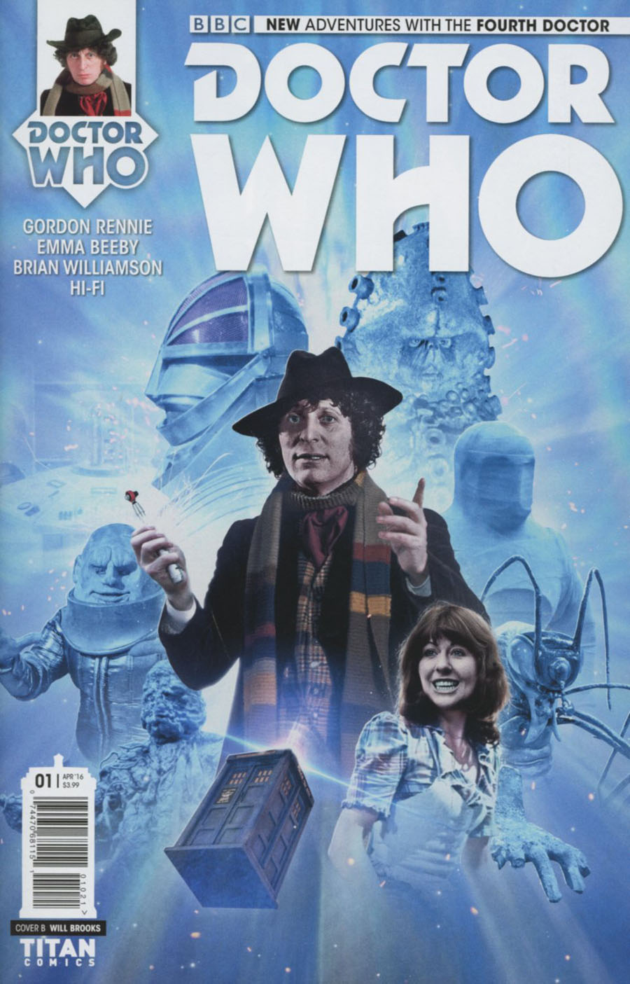 Doctor Who 4th Doctor #1 Cover B Variant Photo Subscription Cover