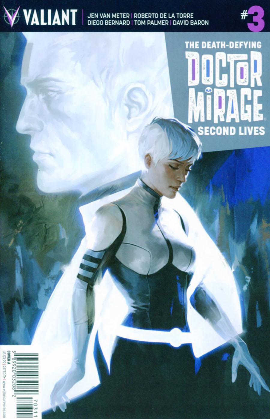Death-Defying Doctor Mirage Second Lives #3 Cover A Regular Jelena Kevic-Djurdjevic Cover