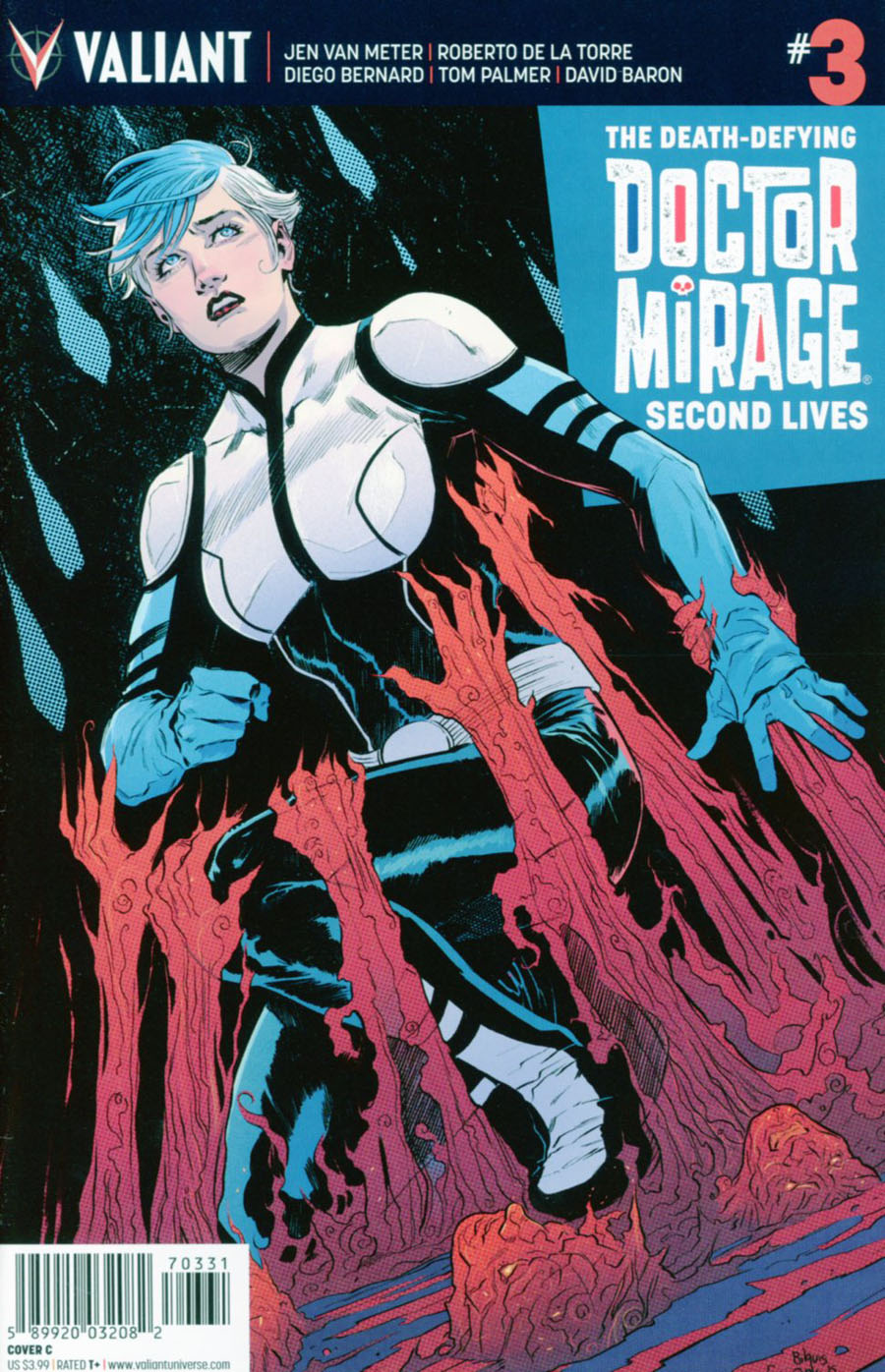 Death-Defying Doctor Mirage Second Lives #3 Cover C Variant Bilquis Evely Cover