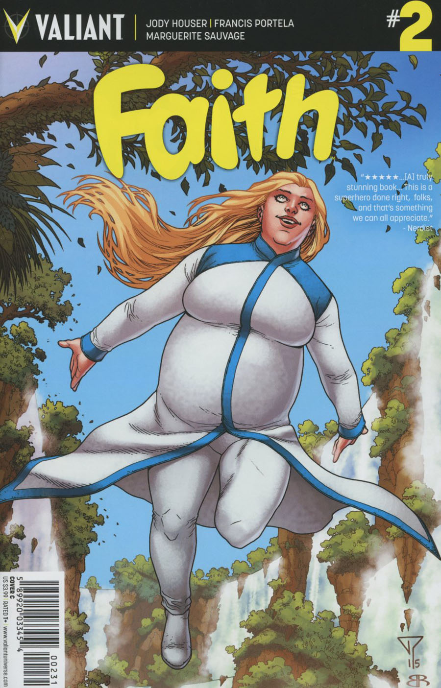 Faith (Valiant Entertainment) #2 Cover C Variant Francis Portela Cover