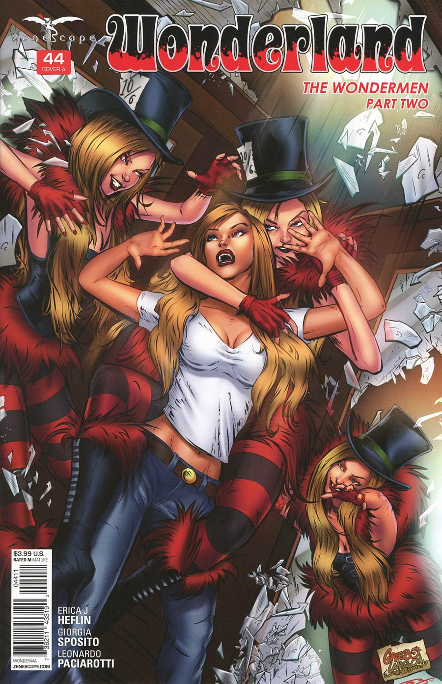 Grimm Fairy Tales Presents Wonderland Vol 2 #44 Cover A Gregbo Watson