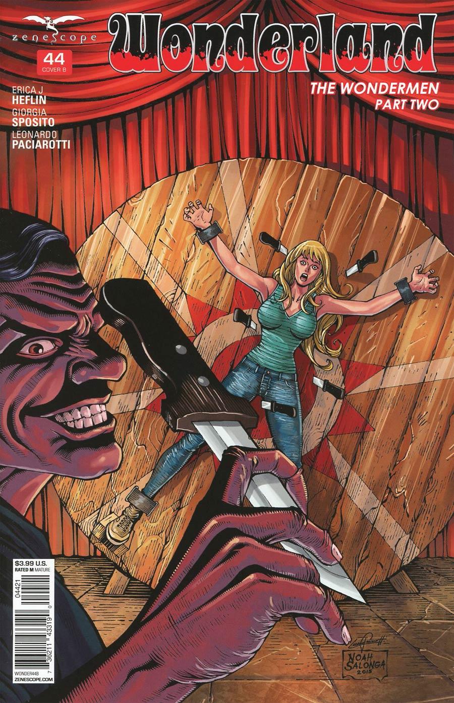 Grimm Fairy Tales Presents Wonderland Vol 2 #44 Cover B Noah Salonga