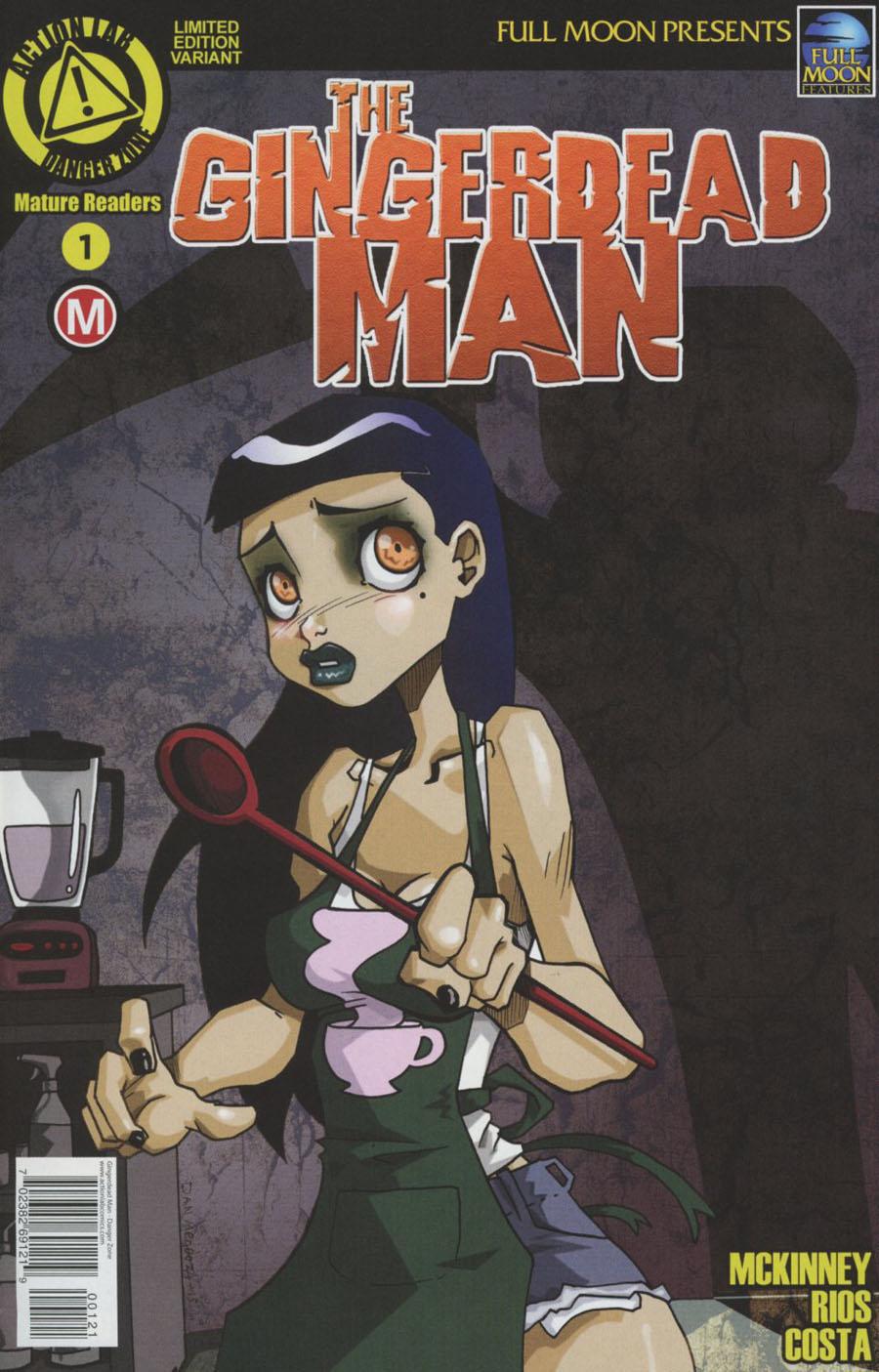 Gingerdead Man #1 Cover B Variant Dan Mendoza Cover