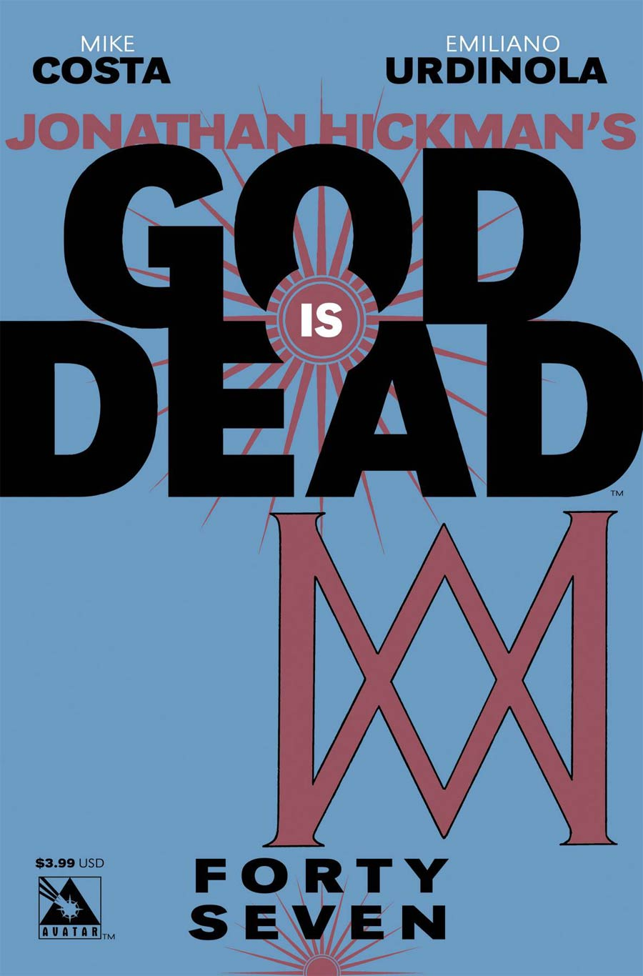 God Is Dead #47 Cover A Regular Cover