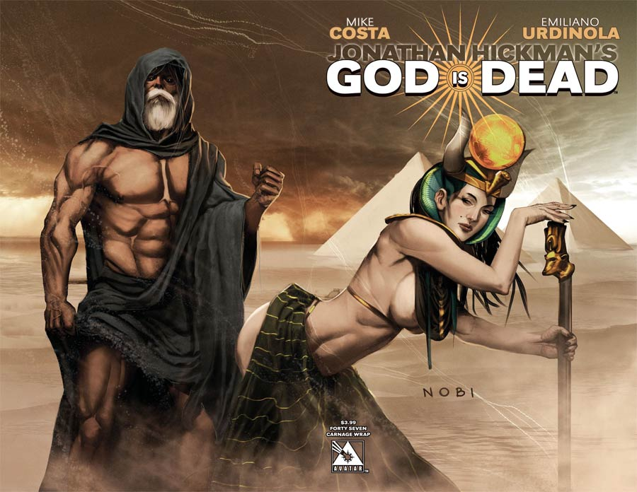 God Is Dead #47 Cover C Carnage Wraparound Cover